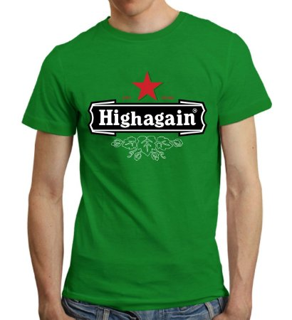 Camiseta High Again