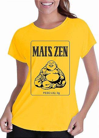 Camiseta Mais Zen (Feminina)