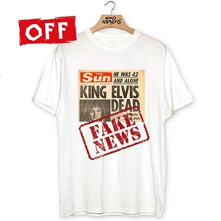 Camiseta Elvis não morreu