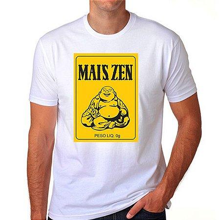 Camiseta Mais Zen (branca)