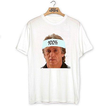 Camiseta 100% Jesus