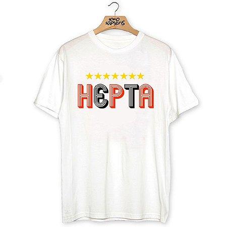 Camiseta Hepta (Coleção Rubro-Negro)