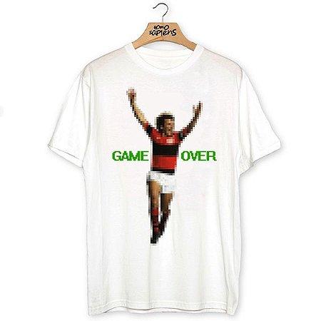 Camiseta Game Over Galinho (Coleção Rubro-Negro)