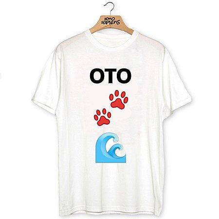 Camiseta Oto Pata Mar (Coleção Rubro-Negro)