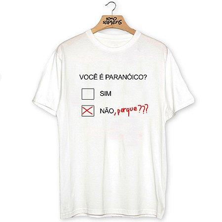 Camiseta Paranóico