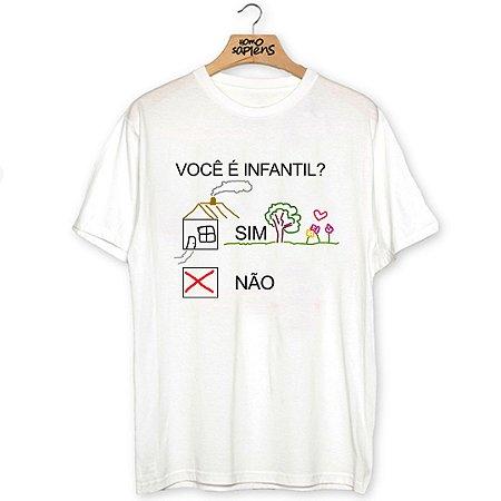 Camiseta Infantilidade