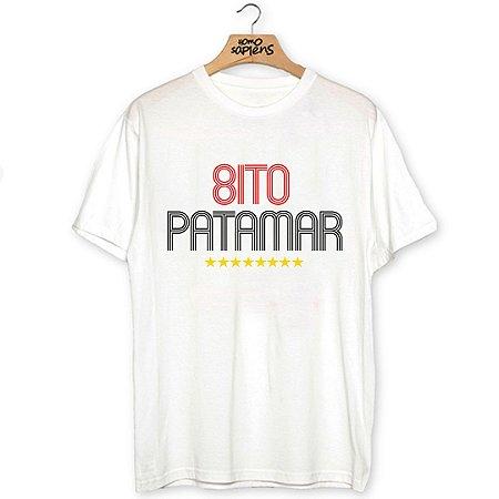 Camiseta Oito Patamar (Coleção Rubro-Negro)