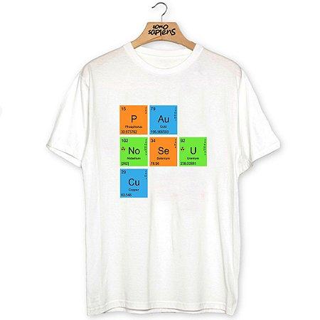 Camiseta Elementos Químicos