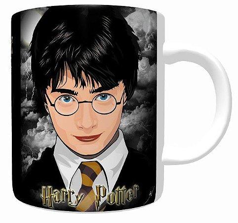 Caneca Harry Potter - Caneca De Porcelana