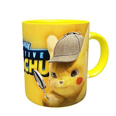 Caneca Detetive Pikachu - Canecas De Pokemon