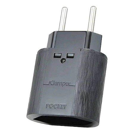 DPS Protetor iClamper Pocket 2 Pinos Raio e Surtos 10A