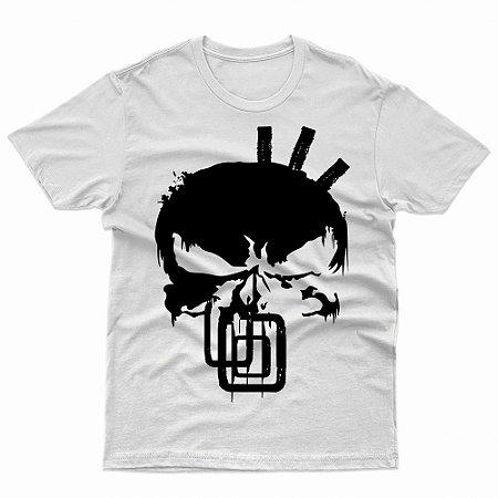 Camiseta O Justiceiro Tribos Urbanas - T-Shirt Geek Séries