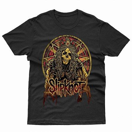 Camiseta Slipknot - T-Shirt Rock Metal
