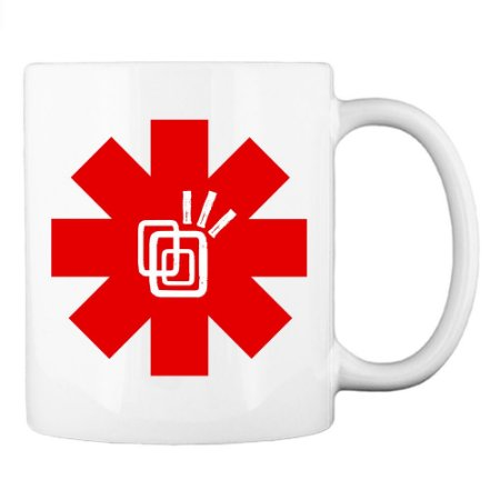 Caneca Red Hot Chili Peppers - Tribos Urbanas