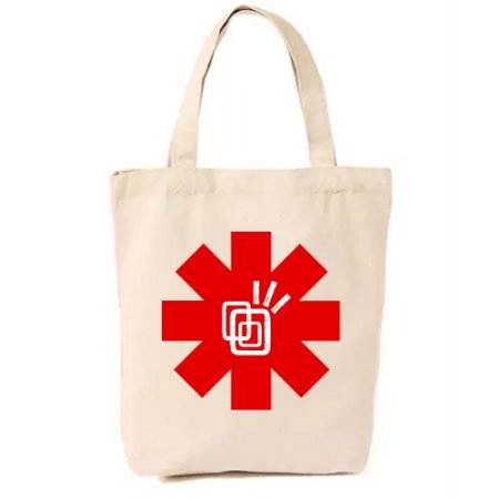 Ecobag Red Hot Chili Peppers - Tribos Urbanas
