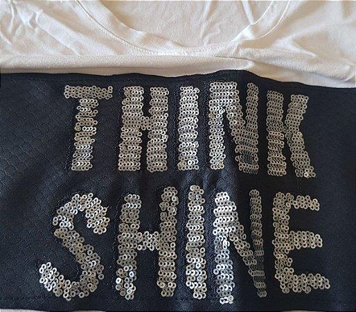 camiseta think shine