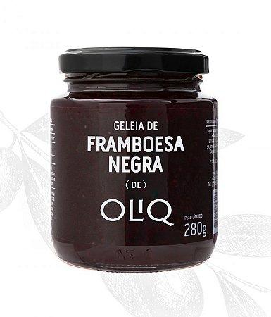 Geleia de Framboesa Negra 280g - Oliq