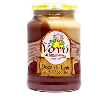 Doce de Leite Cremoso com Chocolate - Doces da Vovó de São Lourenço 0,650kg