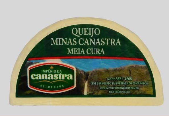 Queijo Canastra Meia Cura (Fracionado) - Império da Canastra