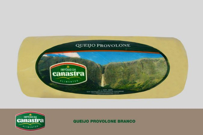 Queijo Provolone Branco - Império da Canastra
