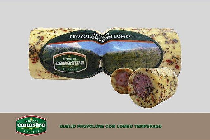 Queijo Provolone com Recheio de Lombo (Temperado) - Império da Canastra