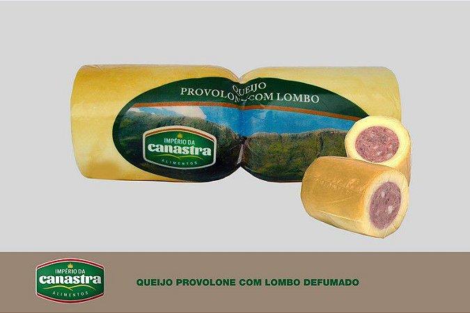 Queijo Provolone com Recheio de Lombo (Defumado) - Império da Canastra