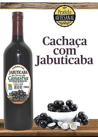 Cachaça com Jabuticaba - Sabores da Canastra 750ml