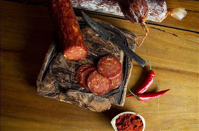 Salame tipo Chorizo Cantimpalo (Pepperone/Fatiado) - Pirineus