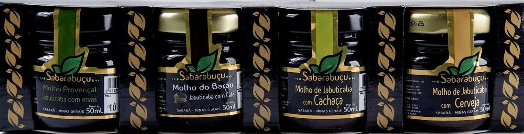 Kit de molhos de Jabuticaba - Sabarabuçu - 200ml