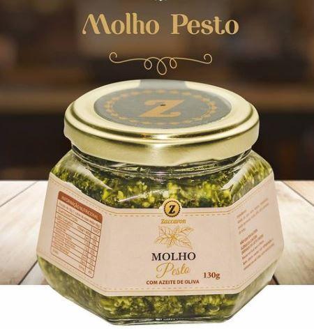 Molho Pesto Zaccaron - 0,130kg