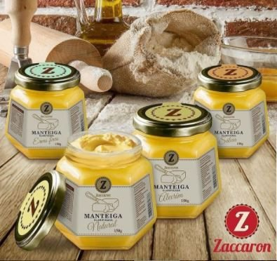Manteiga Clarificada Zaccaron - 0,150kg