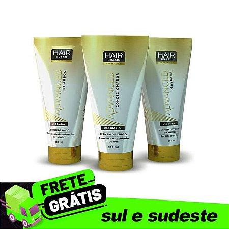 Kit Hair Brasil Cosméticos Germem de Trigo - Advanced