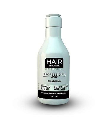 Shampoo Matizador Hair Brasil Cosméticos 300ml - Blonde Silver