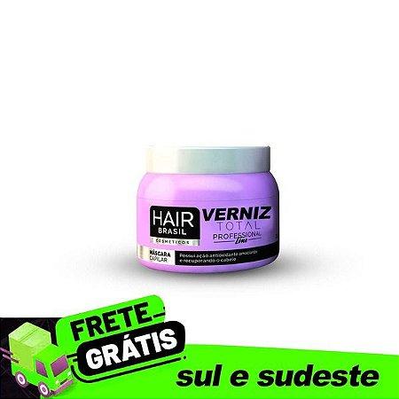 Máscara Verniz Total Hair Brasil Cosméticos - Lumini System