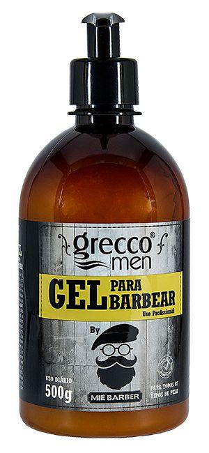 SHAVING GEL PARA BARBEAR GRECCO MEN 500G