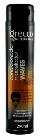Condicionador Modelador Waves Grecco 360waves 290ml