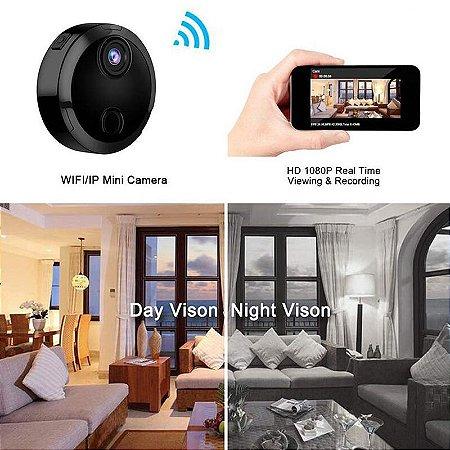 Mini Wifi IP Câmera HD 1080P Infravermelho Night Vision Micro Network Camcorder