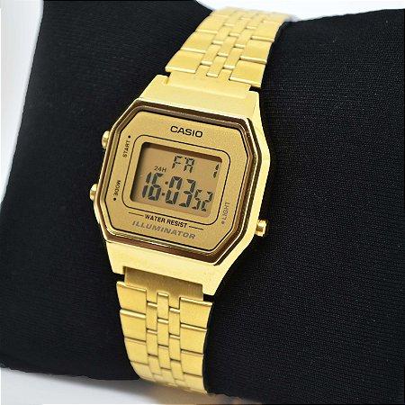 acf8c746844 Relógio Casio LA680WGA-9DF - Flamboyant Acessórios - Semi Jóias