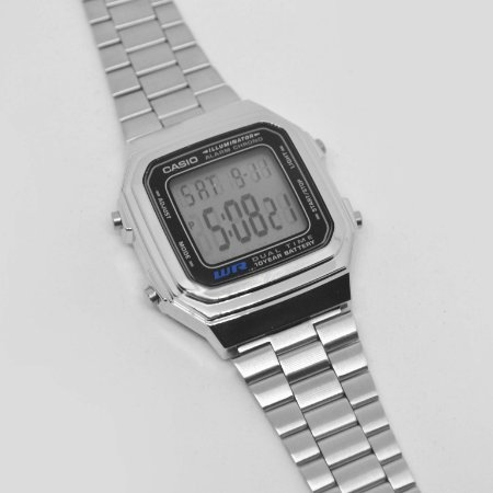 d174e8f28b2 Relógio Casio A178WA-1ADF - Flamboyant Acessórios - Semi Jóias