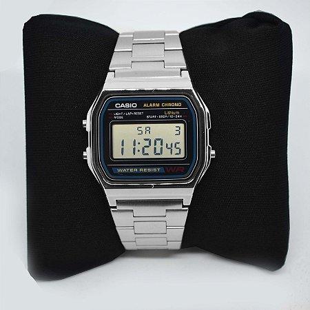 19d27997e62 Relógio Casio A158WA-1DF - Flamboyant Acessórios - Semi Jóias