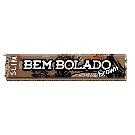 SEDA BEM BOLADO BROWN SLIM KING SIZE UNIDADE