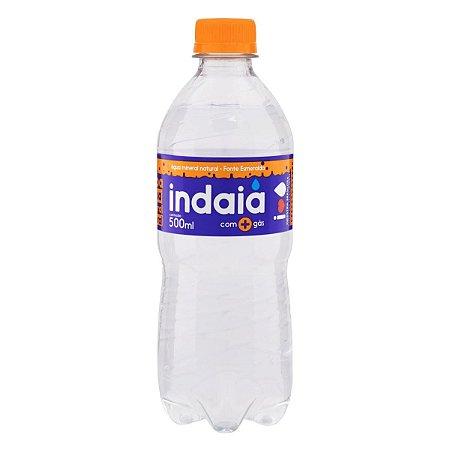 Água Mineral com Gás Indaia 500ml