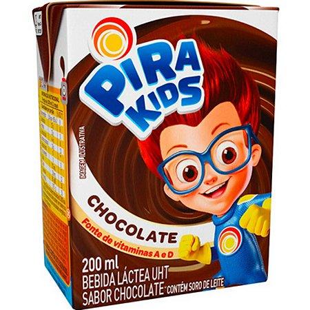 Bebida Láctea Pirakids Chocolate 200ml