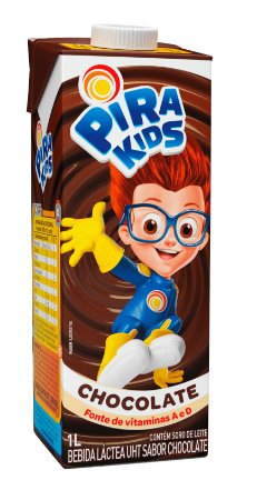 Bebida Láctea Pirakids Chocolate 1L