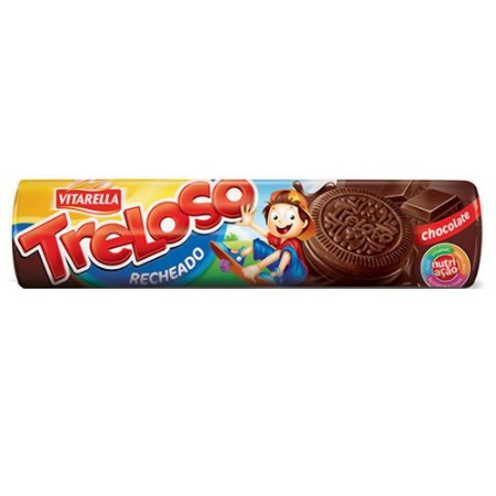 Biscoito Vitarella Treloso Recheado de Chocolate 130g