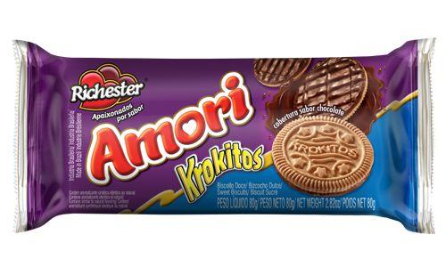 Biscoito Richester Krokitos 80g