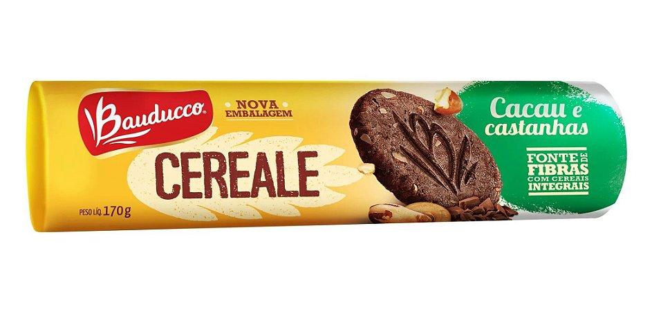Biscoito Bauducco Cereale de Cacau e Castanha 170g