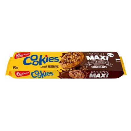 Biscoito Bauducco Cookies Maxi 96g