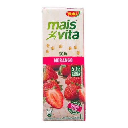 Suco Mais Vita Morango 200ml