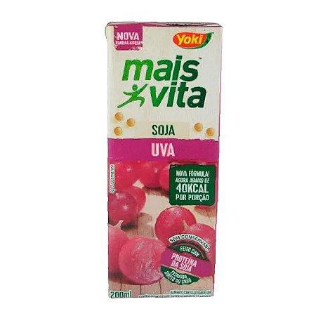 Suco Mais Vita Uva 200ml